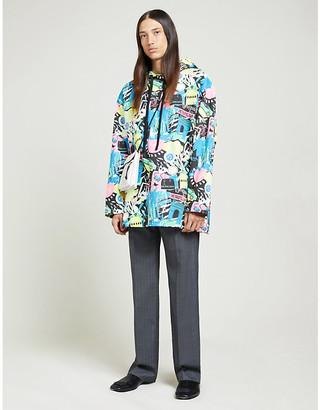 Balenciaga Graphic-print cotton-jersey hoody