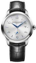 Baume & Mercier Clifton 10052 Stainless Steel & Alligator Strap Watch