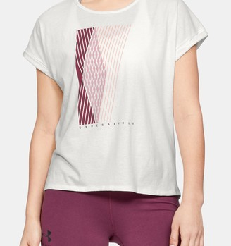 Under Armour Women's UA Graphic Entwined Short Sleeve Crew