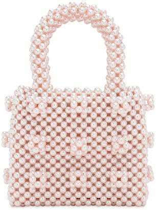 Shrimps MINI ANTONIA BEADED TOP HANDLE BAG