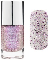Forever 21 Glitter Galaxy Pink Silver Nail Polish