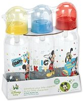 Disney Mickey Mouse Three Pack Deluxe Bottle Set