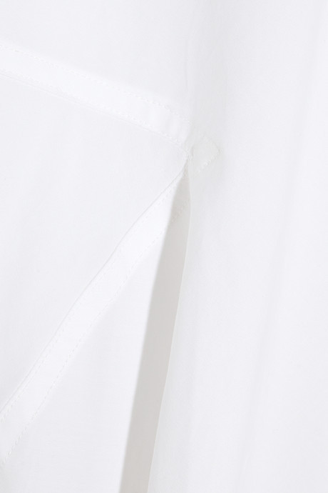 Donna Karan Oversized stretch-cotton poplin shirt