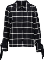 Mother of Pearl Vida checked wool-blend jacket