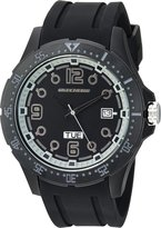 Skechers Men's 'The Harriman' Quartz Metal and Silicone Casual Watch, Color: (Model: SR5067)