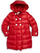 Gucci Little Girl's & Girl's Quilted Down Coat