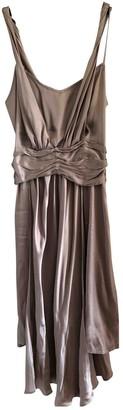 Erotokritos Gold Silk Dress for Women