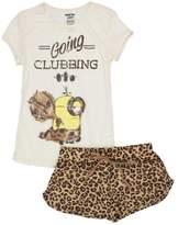 Despicable Me Minions Juniors Womens Shorts Pajamas Set