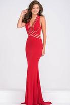 Jovani Jersey Fitted Long Dress JVN92479