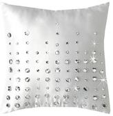 By Caprice Multi Diamante Teardrop Filled Cushion
