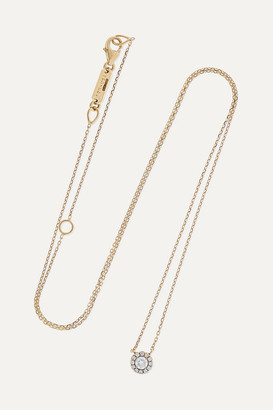 Suzanne Kalan 18-karat Gold Diamond Necklace