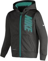 Nike Little Boys' Graphic-Print Zip-Up Hoodie