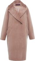 Martin Grant Corduroy Cocoon Coat