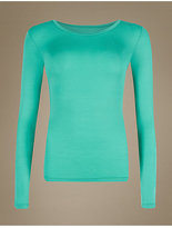 M&S Collection HeatgenTM Thermal Long Sleeve Top