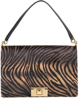 Furla Zebra Printed Shoulder Bag