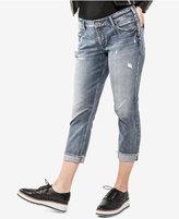 Silver Jeans Co. Trendy Plus Size Sam Cropped Boyfriend Jeans