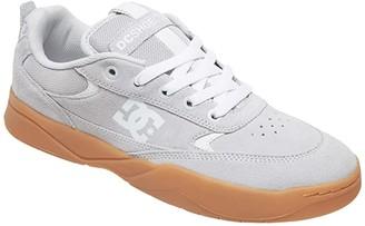 DC Penza (Grey/Gum) Men's Skate Shoes