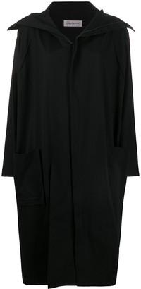 Yohji Yamamoto Midi Oversized Coat