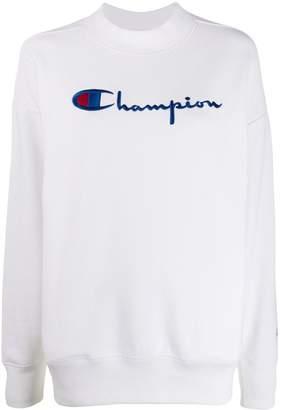 Champion boxy fit logo embroidered sweatshirt