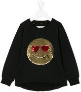 Macchia J smiley face embellished sweatshirt