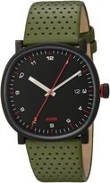 Alessi Men's AL5042 Tic15 Analog Display Analog Quartz Green Watch