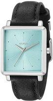 Nixon Women's A4722095 K Squared Analog Display Japanese Quartz Black Watch