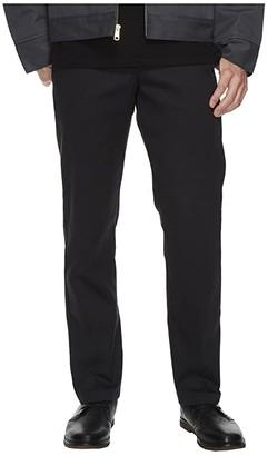 Dickies Slim Taper Ring Spun Work Pants (Black) Men's Casual Pants