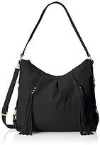 MG Collection Cecilia Tassel Hobo Shoulder Bag