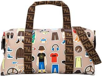 Fendi Gym Bag With Press