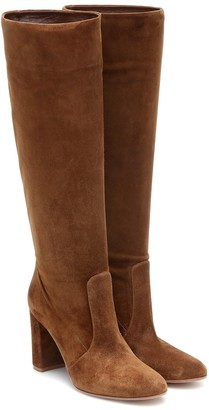 Gianvito Rossi Slouch 85 suede knee-high boots