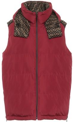 Fendi FF reversible padded vest