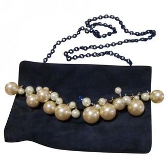 Sonia Rykiel Navy Suede Handbags