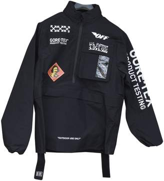 Off-White Off White Black Polyester Coats