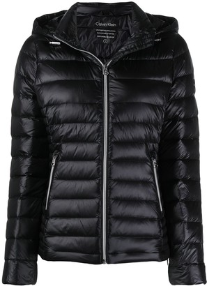 Calvin Klein Hooded Puffer Jacket