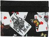 Dolce & Gabbana Printed Dauphine Credit Card Holder