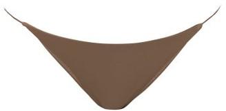 JADE SWIM Bare Minimum Bikini Briefs - Nude