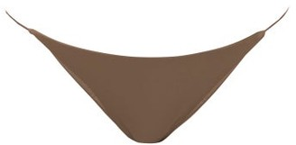JADE SWIM Bare Minimum Bikini Briefs - Womens - Nude