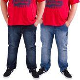 "Kangol Mens Plus Size King Regular Fit Designer Jeans Denim Pants Size 42""-54"""