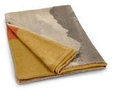 Oyuna Vista print cashmere throw