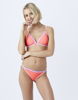 Accessorize Colour Block Bikini Top