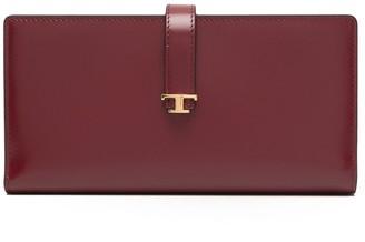Tod's Logo-Plaque Wallet