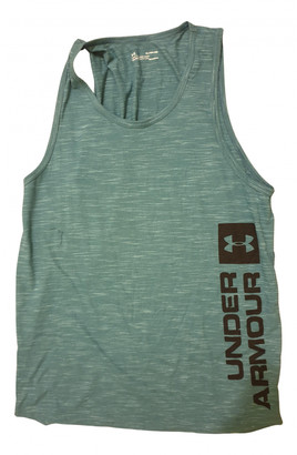 Under Armour Green Cotton T-shirts