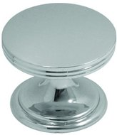 Hickory Hardware P2142-CH 1-3/8-Inch American Diner Knob, Chrome