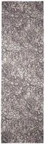 St. John Floral Viscose Silk Burnout Scarf