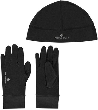 Ronhill Ron Hill Hat and Glove Set Mens