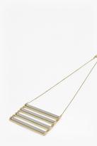 Candy Stick Ladder Necklace