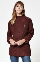 Obey Barnette Mock Neck Pullover Sweater