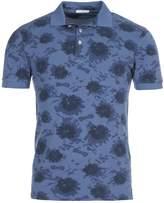 Eden Park Men's Floral Cotton Polo Shirt