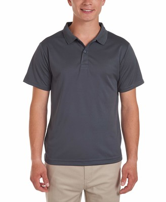 Nautica Men's Young Short Sleeve Performance Polo