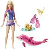 Barbie Dolphin Magic Snorkel Fun Doll and Friends